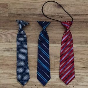 Other - 3 gently used toddler ties